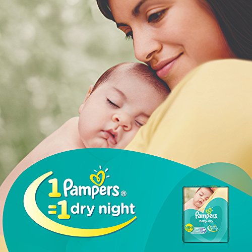 Pampers Baby Dry Taped Diapers New Born To Small 22 Pieces
