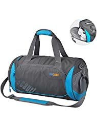 Oscaurt Gym Duffle Sport Bag with Large Ventilated Shoes Compartment For Travel ,Gym,Yoga