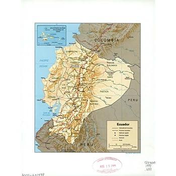 Map Poster - Ecuador. 11