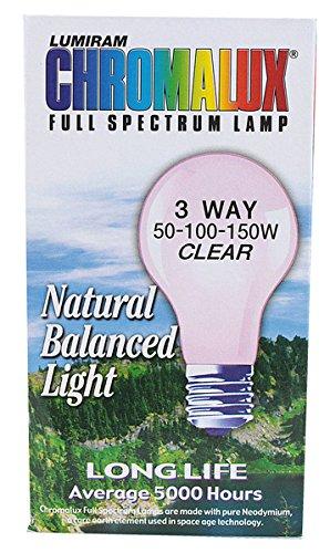(Chromalux Light Bulb Std Clr 3Way Bulb)