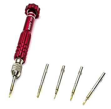 Infocoste - Destornillador precisión 5 Puntas baku-7275