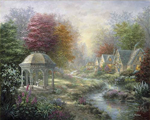 "Chamberart 1000Piece Premium Jigsaw Puzzles ""A Quiet Morning In The Woods"" A-1079 By Nicky Boehme"