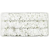 Plastik Beyaz Renk Çıt Çıt Düğme 200 Set 12.5 MM