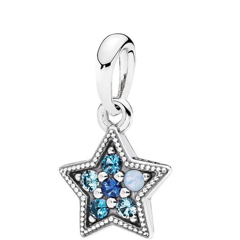 Pandora charm carrier crystal, 396376NSBMX