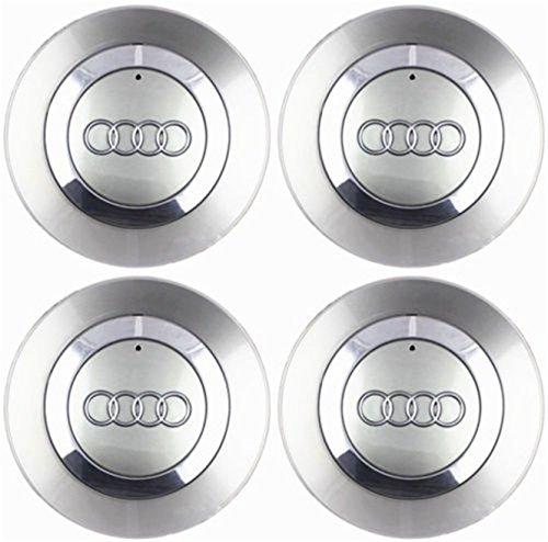 "kil1 4 OEM Wheel Center Cap 8E0601165 for Audi 2002-2007 Audi A4 B6 16"" 5 Spoke Wheel"