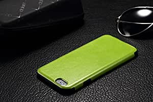 BTR Leather Pattern Skin Protective Case for Apple Iphone6 (green)