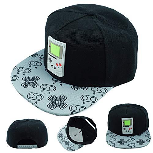 Game Super Mario Bros Hat Trucker Baseball Snapback Caps Hip Hop Hats for Adult Boys Girls Cosplay Cap Gift,J for $<!--$21.84-->