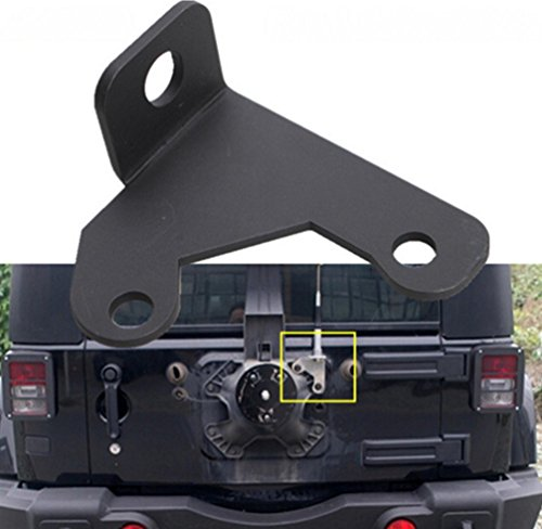Opall Spare Tire CB antenna mount For Jeep Wrangler Unlimited Rubicon Sahara JK 2/4 Door 2007-2016