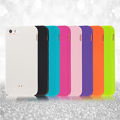 Slip Guard Silicone iPhone 5 Case (Orange)