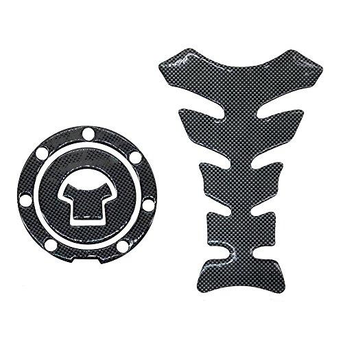 (Carbon Fiber Look Tank Protector Pad and Gas Cap Cover Pad Sticker For HONDA CBR600RR 1000 F3 F4 F4I F5 CBR929 954 900 VFR CB400 1000)
