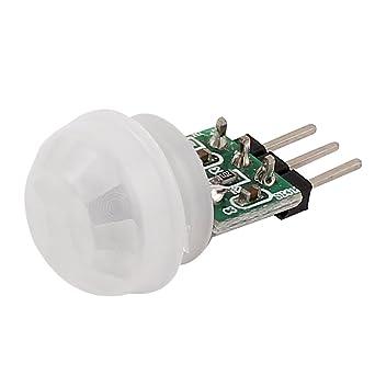 Mini Pyroelétrico PIR Sensor Módulo Movimiento de Cuerpo Humano Infrarrojo Detección Tabla