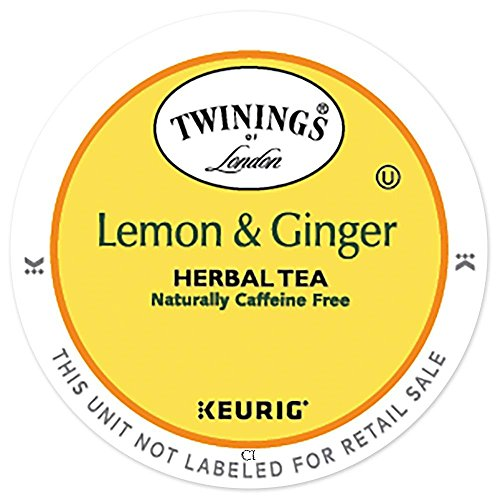 Twinings Keurig Lemon And Ginger Herbal Tea ()