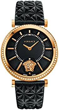Versace V-Helix Black Dial Ladies Watch