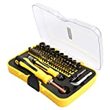 E.Durable Screwdriver Set, Precision Repair Tool Kit, 70 in 1 with 65 Bits Magnetic Driver Kit Professional Screwdriver Kit for iPhone 8, 8 Plus iPad Smartphone Game Console Tablet PC, etc (70 in 1)