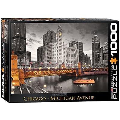 Eurographics Chicago River Puzzle 1000 Pezzi