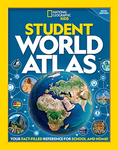 - National Geographic Student World Atlas, 5th Edition