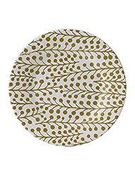Cacharel Mimosa Desert Plate, White