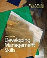 Developing Management Skills, 8th Edition Front Cover