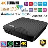 AUHKO M8S PRO Android 7.1 Smart TV Box 3GB DDR4 16GB Amlogic S912 64 bit Octa Core UHD 4K BT 4.1 2.4G/5G WiFi Set-top Box