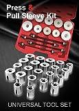 WINTOOLS 27 Pcs Universal Press & Pull Sleeve Kit