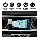 #10: RUIYA 2016 2017 2018 Toyota Tacoma In-Dash Screen Protector, HD Clear Tempered Glass Car Navigation Screen Protective Film