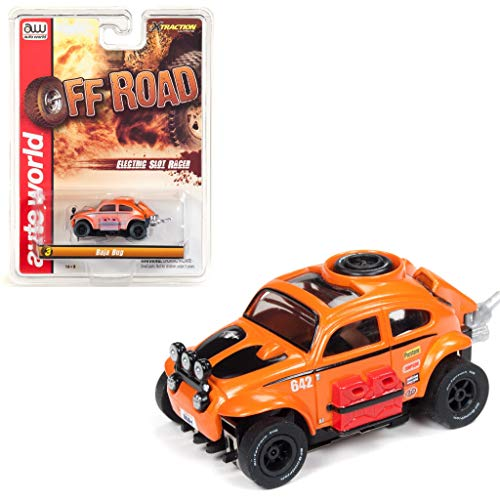 - Auto World SC335-3O Off Road X-Traction Baja Bug Clam Shell HO Scale Slot Car