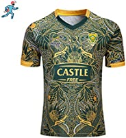 2019 Rugby Jersey, South Africa 100th Anniversary Edition, Football Clothing Uniform Suit - Wear A Soccer Jers