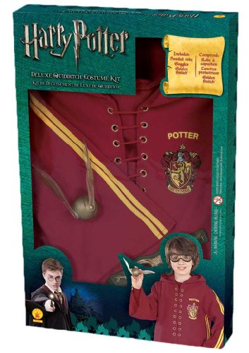 Harry Potter Deluxe Quidditch Costume Kit (Harry Potter Quidditch Costume Kit)