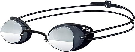 Arena Oculos Swedix Mirror Lente Espelhada Prata, Preto/ Cinza