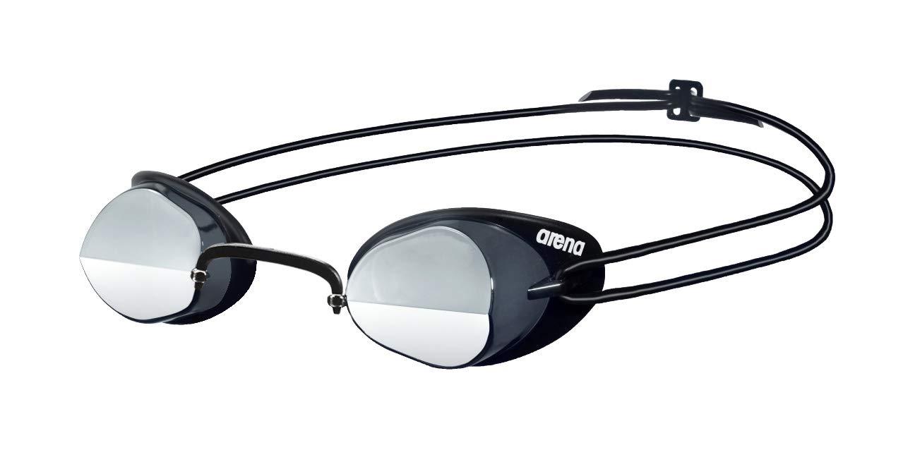 b6a92f7e9f70 Arena Swedix Mirror Occhialini da Gara, Unisex, Multicolore  (Smoke-Blue-Black), Taglia Unica: Amazon.it: Sport e tempo libero