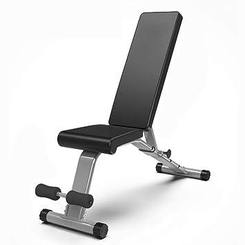 Bancos ajustables Heavy Duty Unisex Adultos Banco de Servicios públicos Ajustable Fitness All-in-