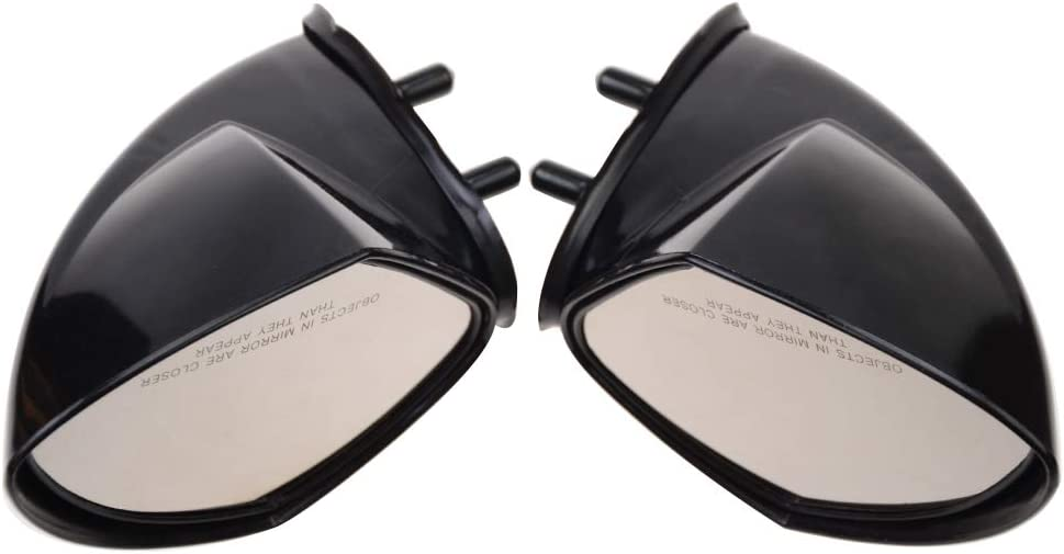 Sport 2007-2009 WaveRunner VX110 Cruiser WOOSTAR Left Right Hand Side Rear View Mirrors Set For Yamaha PWC WaveRunner VX110 2005-2009 Deluxe