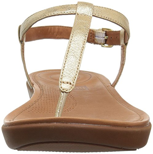 Tia Aperta 308 Donna Sandals Gold Sandali Thong Leather Oro Toe Pale Punta Fitflop 0g7xd0