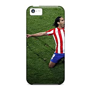 Snap-on Sport Footballer Radamel Falcao Cases Covers Skin Compatible With Iphone 5c