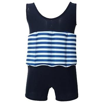 Amazon.com: baiyu traje flotador infantil traje una pieza ...