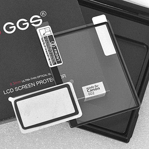 GGS IV Self-Adhesive Optical Glass LCD Screen Protector for Canon 6D Mark II