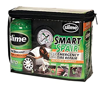 Skoda Fabia Smart Spair Emergency Tyre Repair Compressor Kit 15 Min Repair