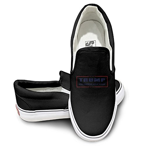 donald-trump-for-president-make-america-great-again-fashion-slip-on-canvas-sneakers-black