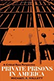 Private Prisons in America: A Critical Race Perspective (Critical Perspectives in Criminology)