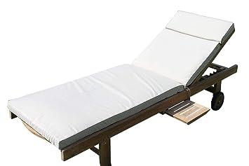Cojín para muebles de jardín - Cojín para silla tumbona de ...
