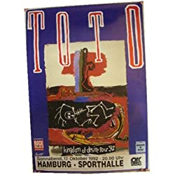 ToTo German Tour Poster To To 1992 Concert