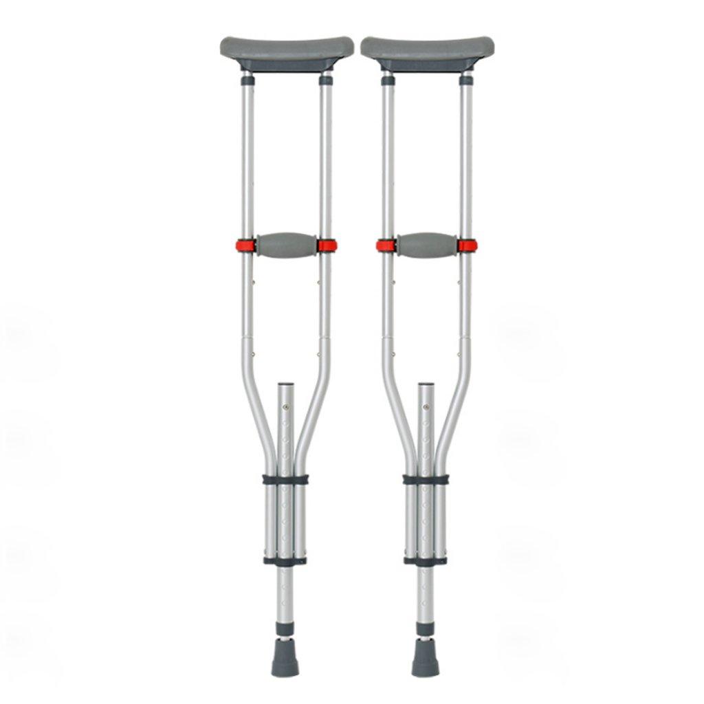 TangMengYun 折りたたみ式アルミニウム合金松葉杖、高さ調節可能な滑り止め松葉杖、軽量ウォーキングスティック B07BJ77D5L
