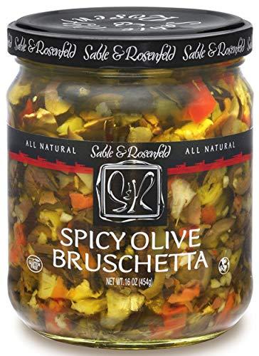 Sable & Rosenfeld - The full catalog selection! (Spicy Mediterranean Olive Bruschetta)