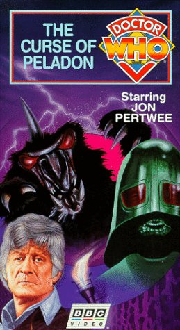 Doctor Who: The Curse of Peladon [VHS]