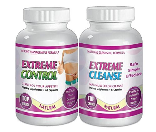 Extreme Cleanse Control Weight loss Diet System Kit 30 Day Supply All Natural by SliMaxUSA (Image #7)