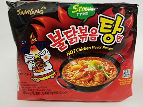 Where to find korean fire noodles stew type?
