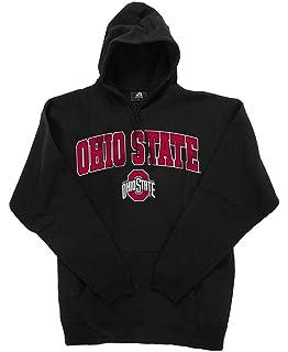 24d24bd13a9 Amazon.com  Ohio State Buckeyes Mens OSU Logo Hoody Sweatshirt with ...