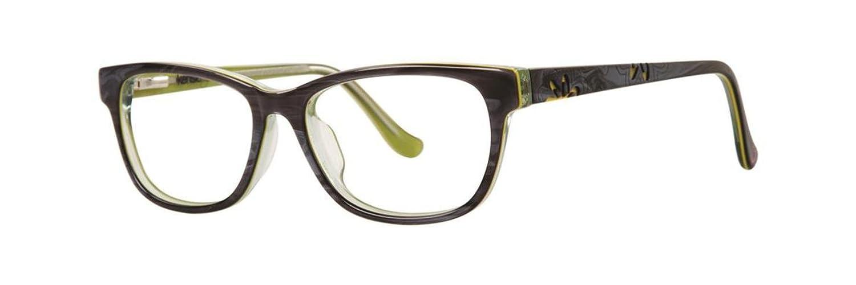 KENSIE GIRL Eyeglasses FLOWER Gray 47MM