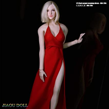 """1//6 Female Body Doll Clothes Evening Dress for Phicen CY Girls 12/"""" Action Figure"""