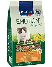 Vitakraft Pełne jedzenie dla szczurów, warzyw, dat i orzechów, kompleks Trivity, emocja piękno wybór w każdym wieku, 5 sztuk
